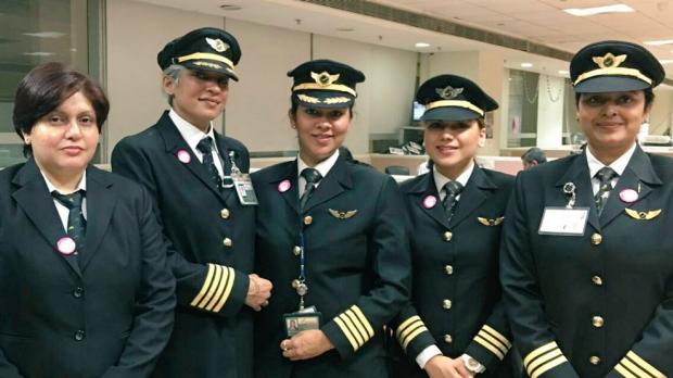 Air India Operates The Longest All Women-staffed Flight, Sets World Record