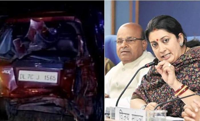 Yamuna Expressway Accident: Family Accuses Smriti Irani Of Not Helping