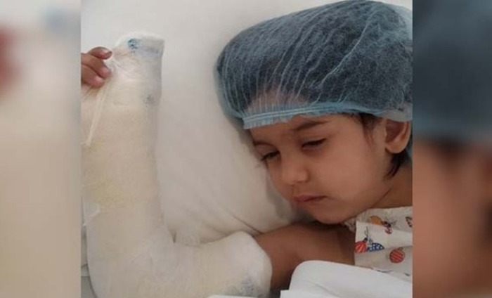 3 Year Old's Thumb Slashed At Daycare Centre In Gurgaon