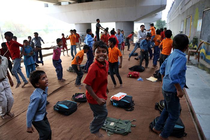 The Story Of 'the Free School' Under A Metro Bridge In East Delhi