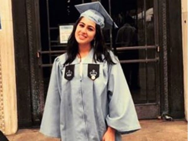 Saif Ali Khan's Daughter Sara Graduates From Colombia University