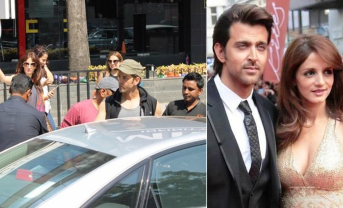 Sussanne Khan And Hrithik Roshan Spotted Together At A Party!