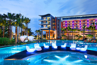 World's Most Promising High-tech Hotels - W Singapore, Sentosa Cove