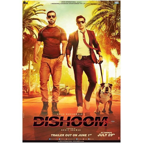 Poster: Varun Dhawan And John Abraham Impress Us With Their First Look Of Dishoom