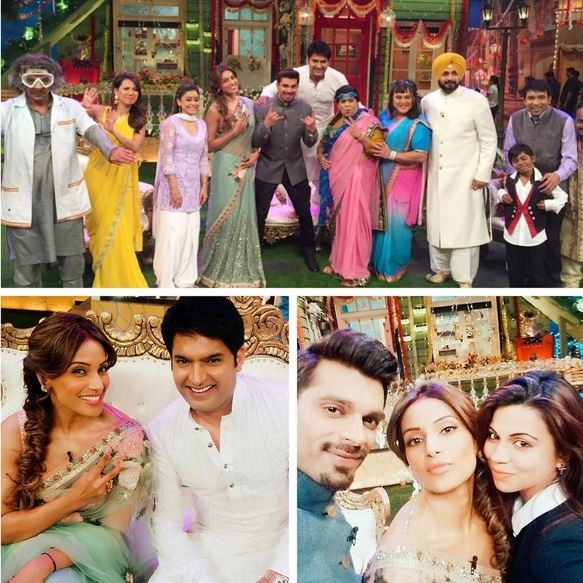 Photos: Bipasha And KSG Make Their First TV Appearance Post Marriage