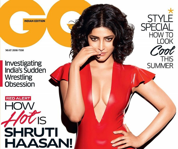 WOW: Shruti Haasan Looks Uber HOT In This New GQ Cover