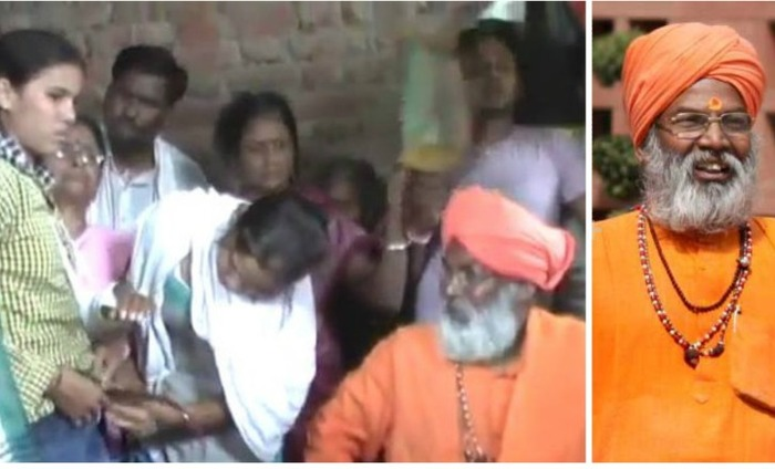 Sakshi Maharaj Booked For Threatening The Police