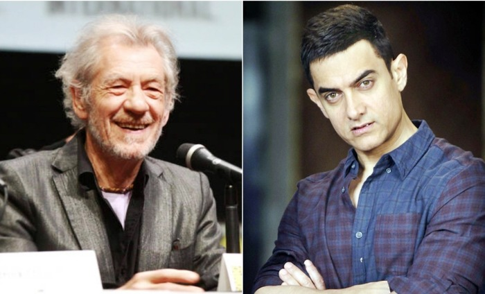 Aamir Khan To Share The Stage With Sir Ian McKellen In Mumbai