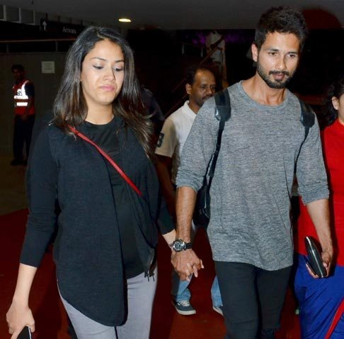 Mira Rajput Finally Makes An Appearance With Her Baby Bump & Shahid Kapoor