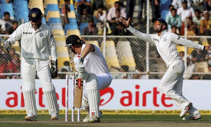 India Vs. England Rajkot Test Series: India Plays Safe After England Post 537