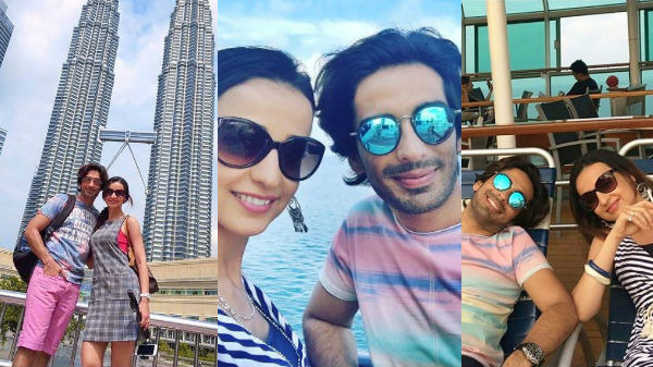 Sanaya Irani And Mohit Sehgal's Singapore And Malaysia Vacation Photos Will Give You Travel Goals