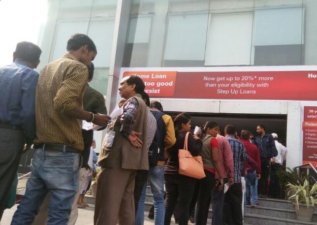 Demonetisation Black Money Crackdown Leads To Long ATM Queues