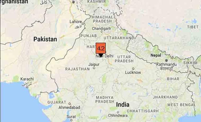 Delhi And Haryana Felt Moderate Earthquake Tremors On Early Thursday Morning