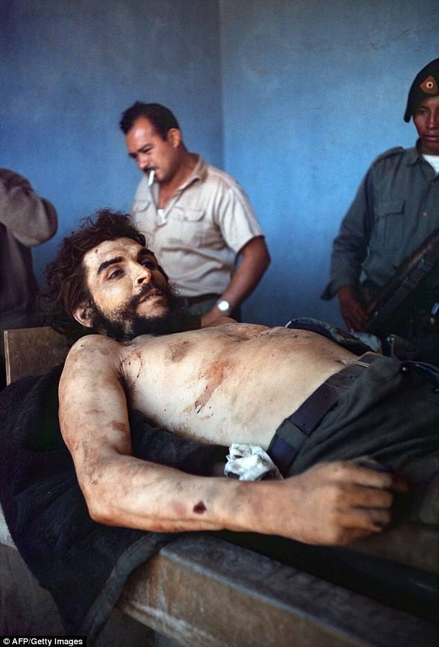 Historic Photo Of Dead Che Guevara Resurfaces In Spain