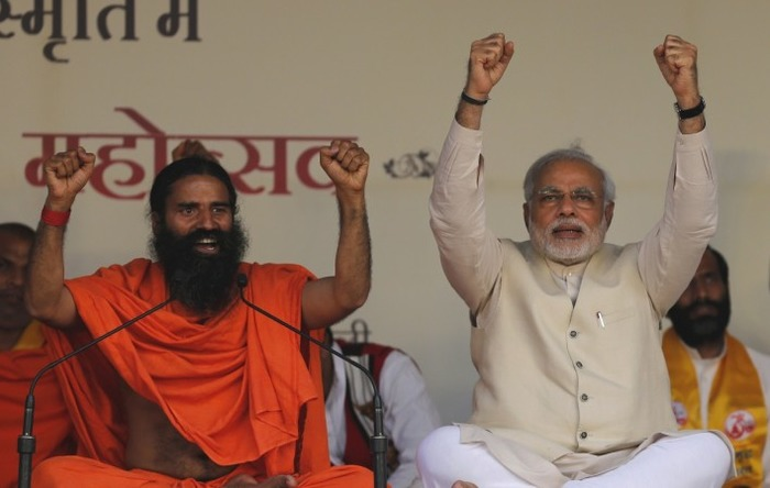 Baba Ramdev Lauds Narendra Modi's Decision Of Demonetisation