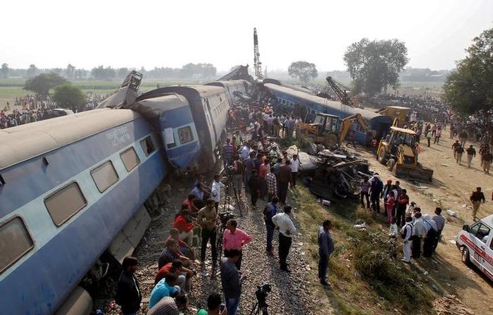 Death Toll Rises To 130 In Kanpur Train Derailment