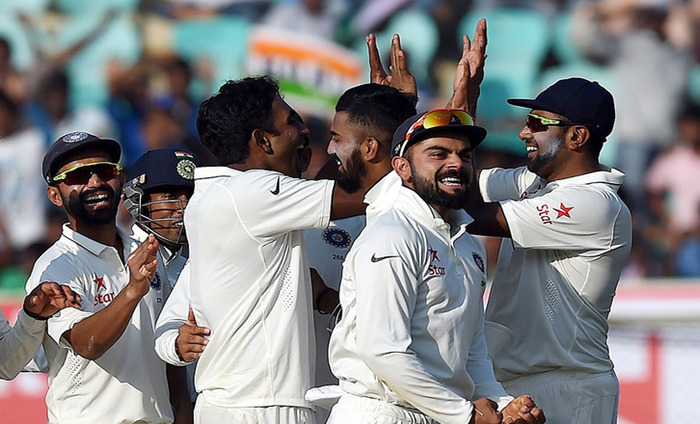 India Leads In Second Test Match, Beat England By 246 Runs