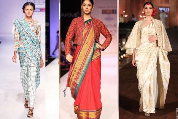 Drape A Sari, Yet Stay Warm In Winter