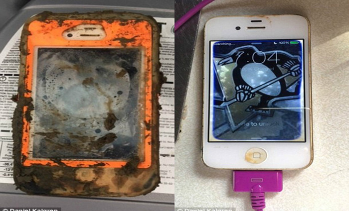Fisherman Finds His IPhone Working Just Fine After One Year Of It Being In An Icy Water