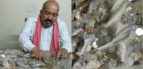 Demonetisation Effect: Man Gets Rs 20,000 In 10-Rupee Coins From Bank