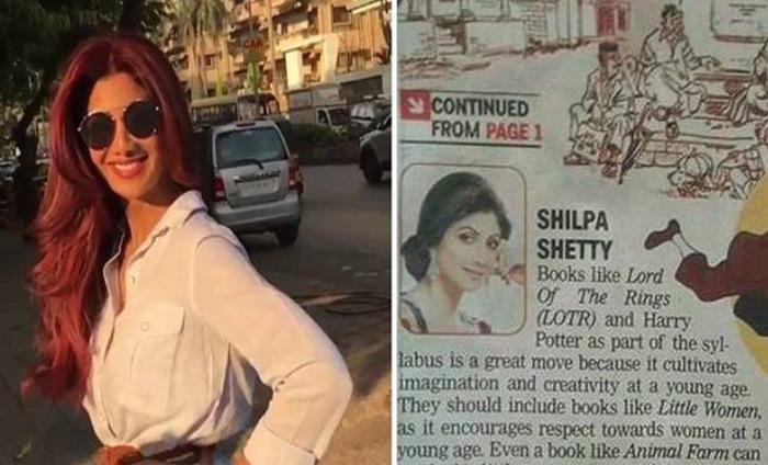 Shilpa Shetty Gets Trolled For Misinterpreting 'Animal Farm'