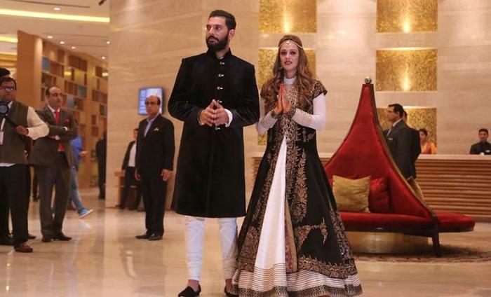 In Pics: Yuvraj Singh-Hazel Keech's Sangeet & Mehendi Celebrations