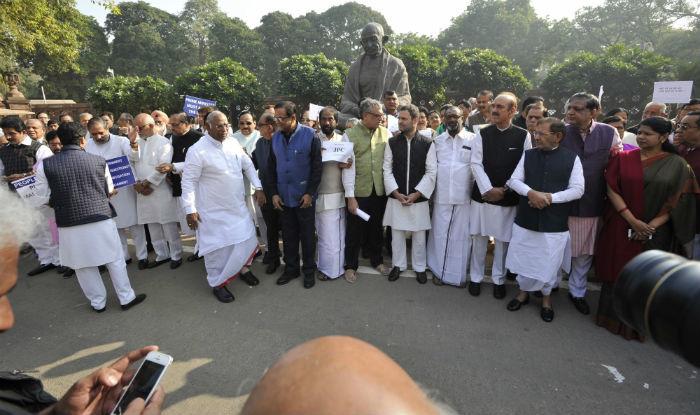 Bharat Bandh: Opposition Marches Against Demonetisation