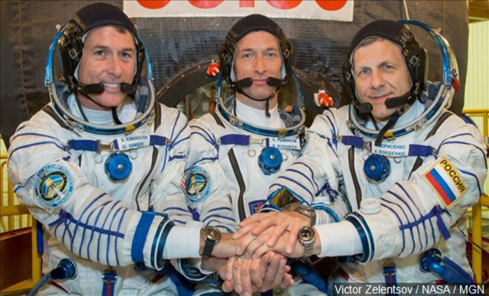 Two American Astronauts Casts Vote From Space
