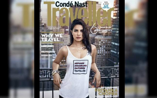 Twitter Slams Priyanka Chopra For Wearing An Insensitive T-Shirt