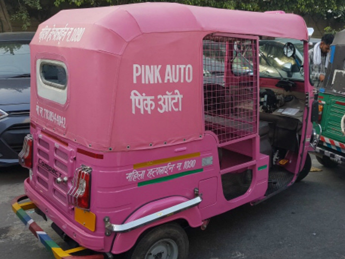 Pink Autos In Noida: Feels Safe Or Demeaning?