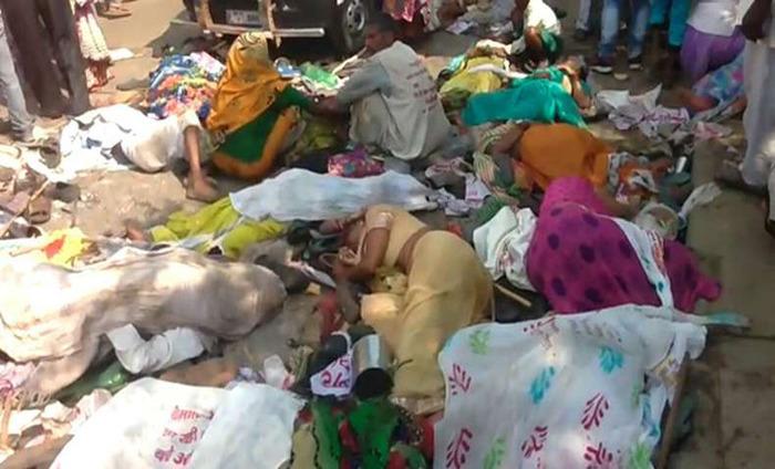 Over 60 Injured And 24 People Killed In Varanasi Stampede