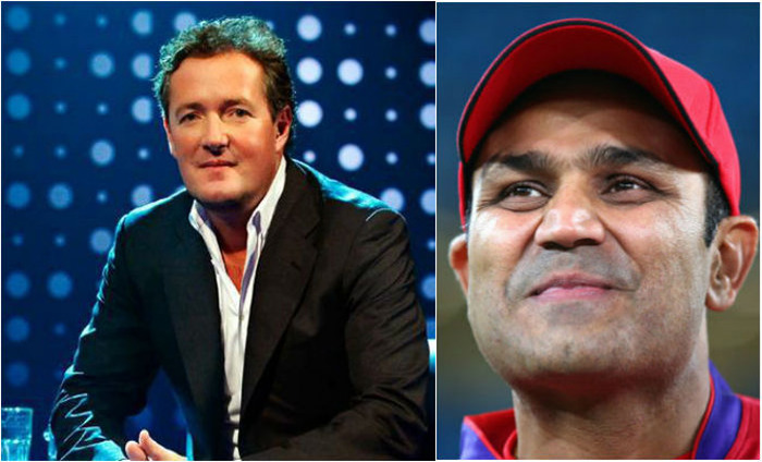 Piers Morgan Faces Twitterati Wrath On Correcting Virender Sehwag's English