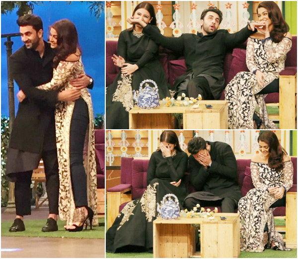 Aishwarya, Anushka And Ranbir's Best Moments From The Kapil Sharma Show