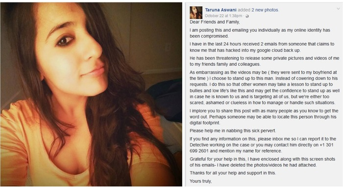 Indian Woman Stood Up To Her Cyber Bully With Powerful Facebook Post