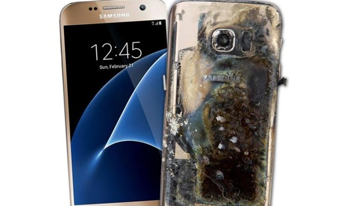 Samsung Galaxy S7 Edge Explodes In US