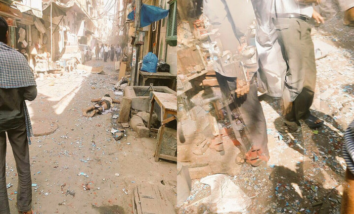 BREAKING NEWS: One Person Killed In An Explosion In Naya Bazar Area, Chandni Chowk