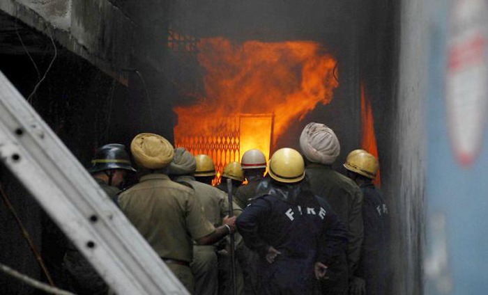 Fire Blaze In A Delhi Apartment, Authority Says No One Was Injured