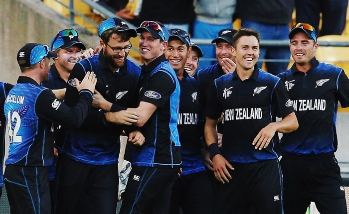New Zealand Makes A Promising Start Chasing 376 Run Target By India