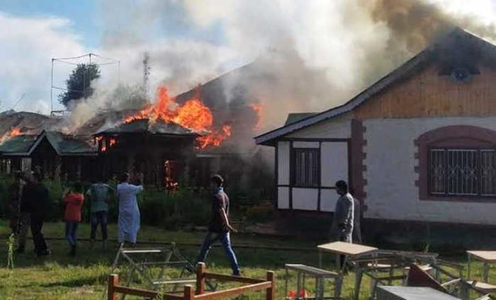 3 Schools Set Ablaze In Kashmir Valley In Last 24 Hours