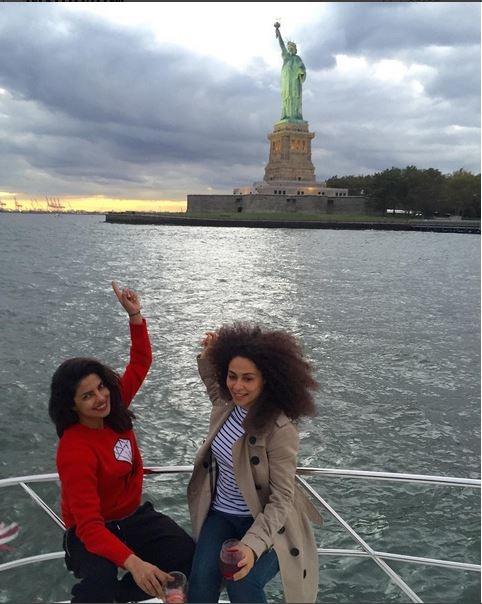 See Photos: Priyanka Chopra Chilling With Her Girls In New York City