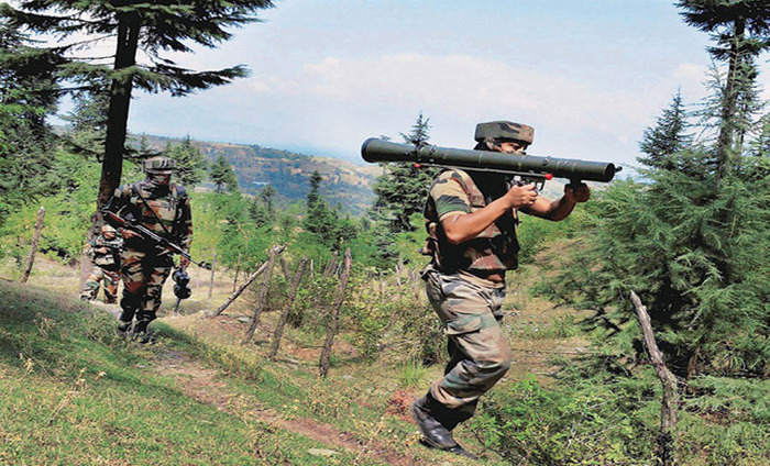Pakistan Troops Violates Border Ceasefire In Four Sectors