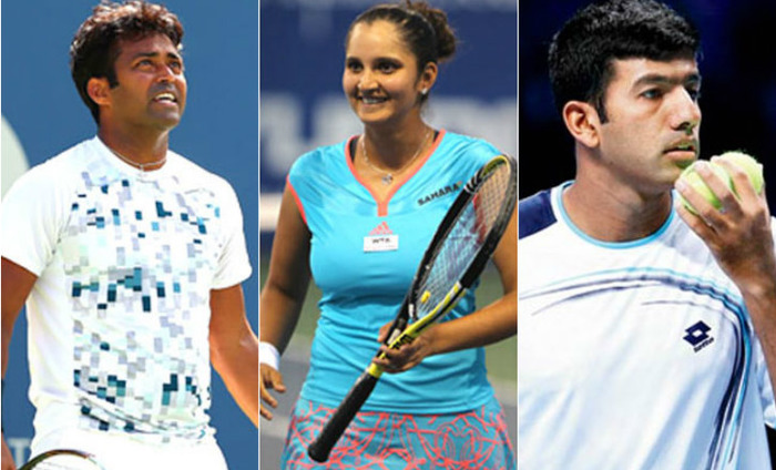 Paes, Mirza, Bopanna Win At US Open