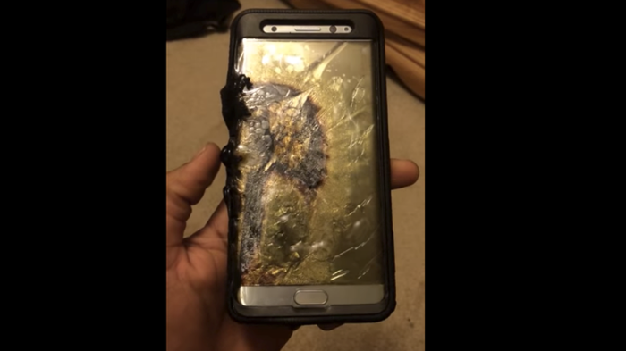 Shocking: Samsung Note 7's Battery Explodes And Severely Injures A 6-Year-Old