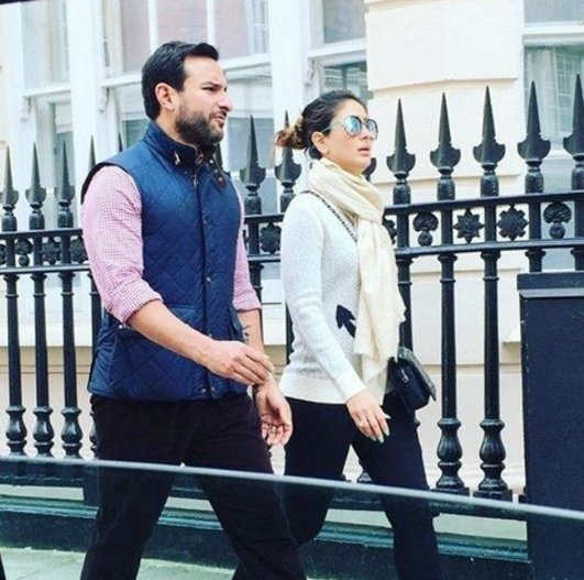 Vacay Diaries: Saif Chilling In London With Wifey Kareena & Giving Us #HolidayGoals