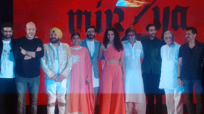 'Mirzya' Music Launch: Anil Kapoor Is My Dad, But Not My Inspiration, Says Harshvardhan Kapoor!