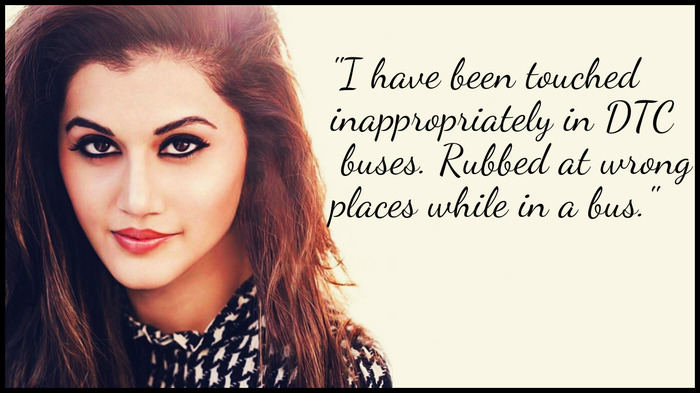 Taapsee Pannu Opens About How She Was Harassed As A Teen
