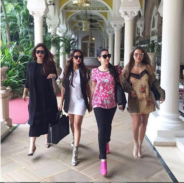 Malaika, Amrita, Kareena, Karisma Look Straight Out From The Sex And The City Show
