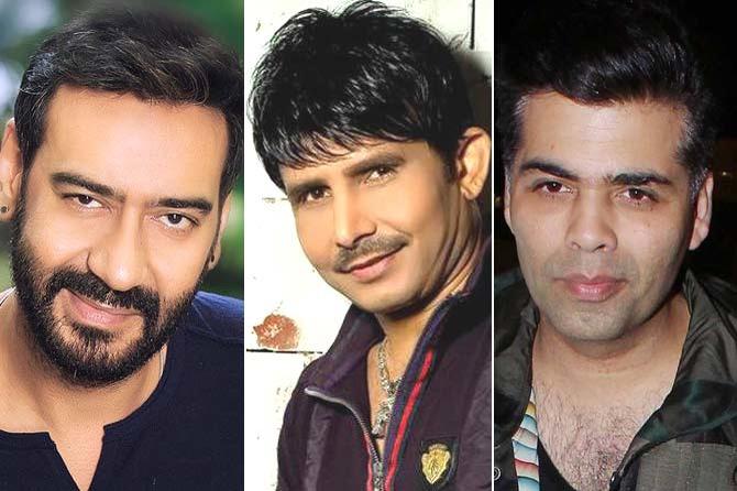 Ajay Devgn Demands Investigation Against KRK And KJo! Find Out Why
