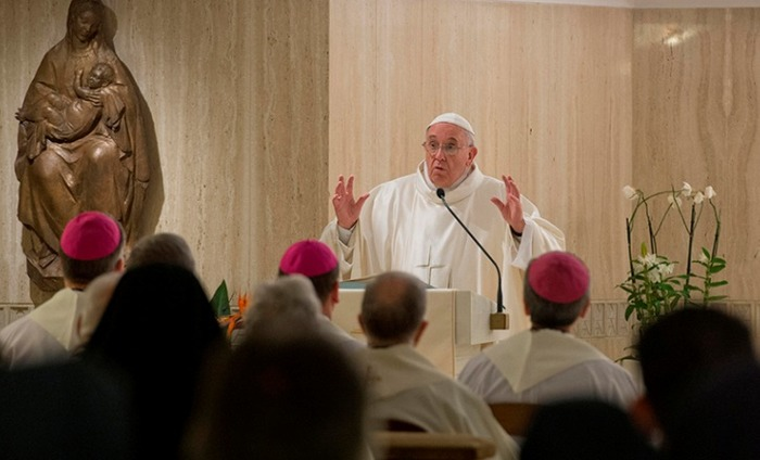 There Is No God Of War Says Pope Francis