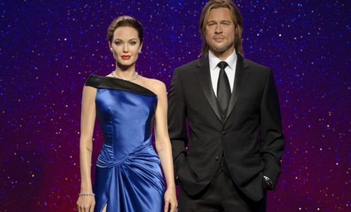 Madam Tussauds Separates Angelina And Brad's Wax Figures